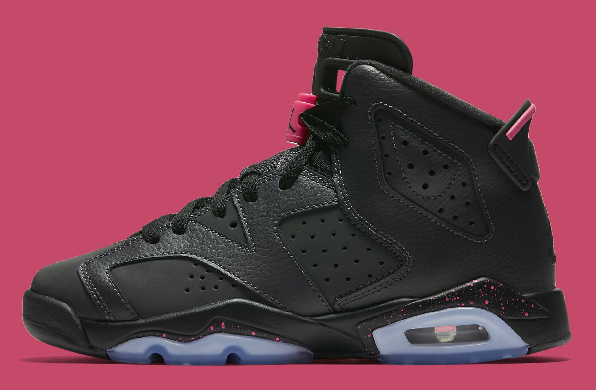 Air Jordan 6 GS Hyper Pink Profile 543390-008