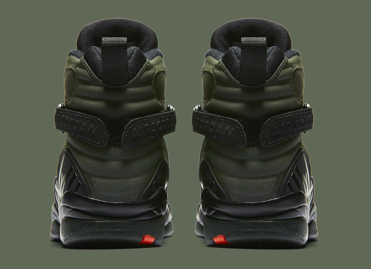 Air Jordan 8 UNDFTD Release Date Heel 305381-305