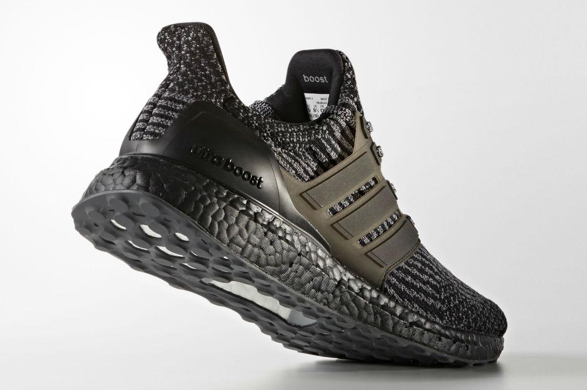 Adidas Ultra Boost 3.0 Black/Silver Lateral BA8923
