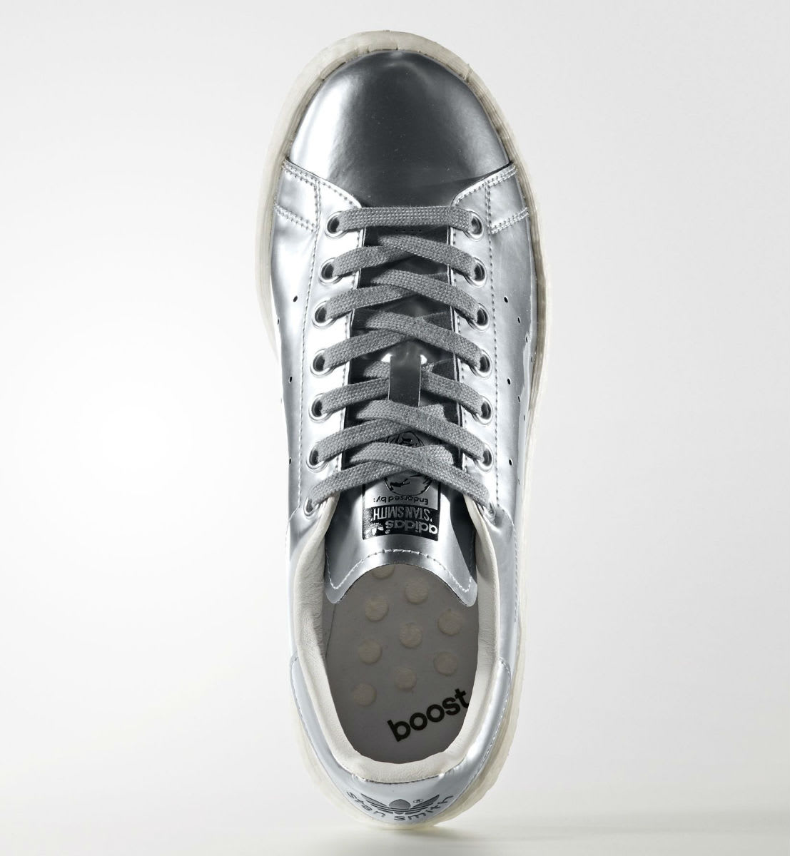 Adidas Stan Smith Boost Silver Top BB0108