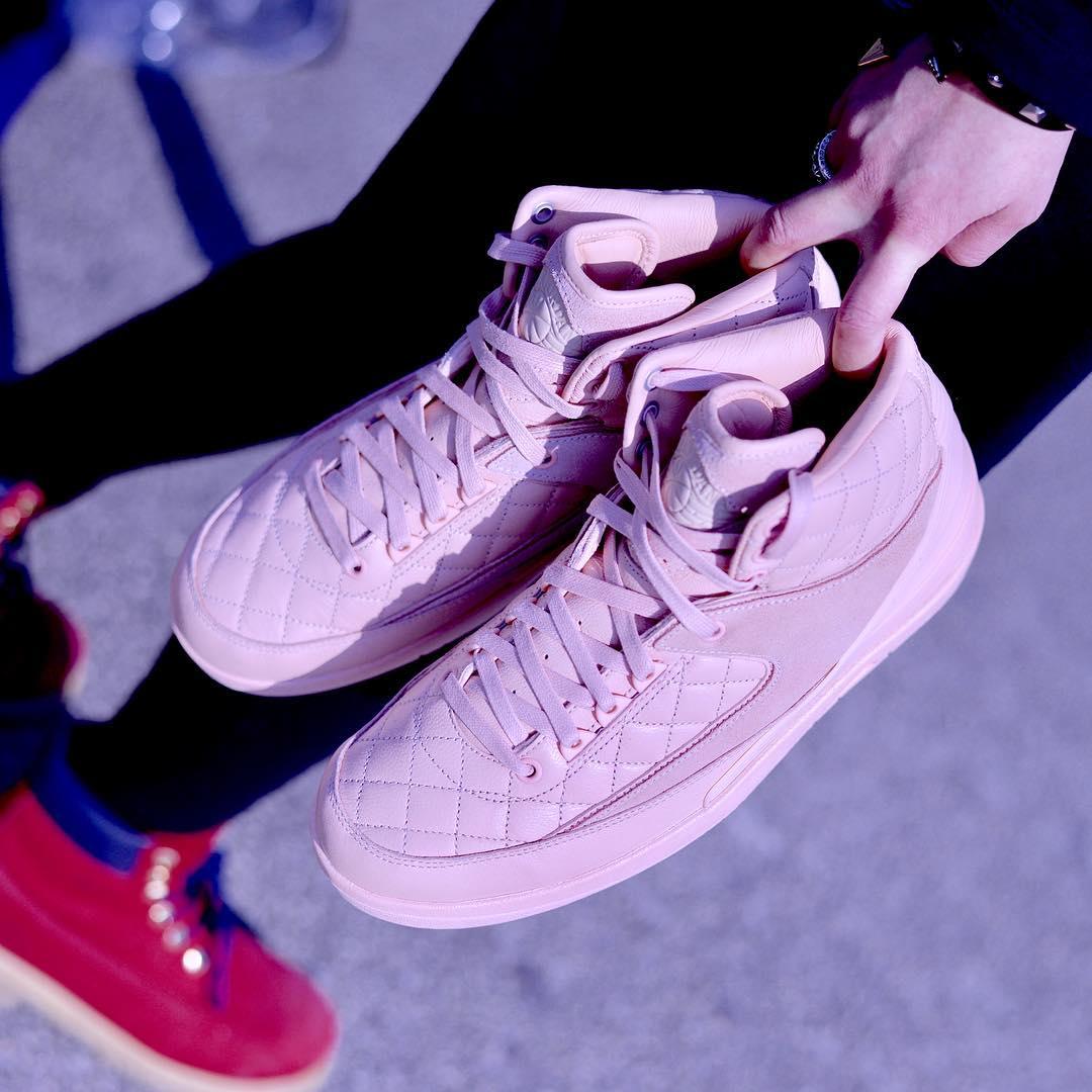 Pink Don C Air Jordan 2 Release Date Left
