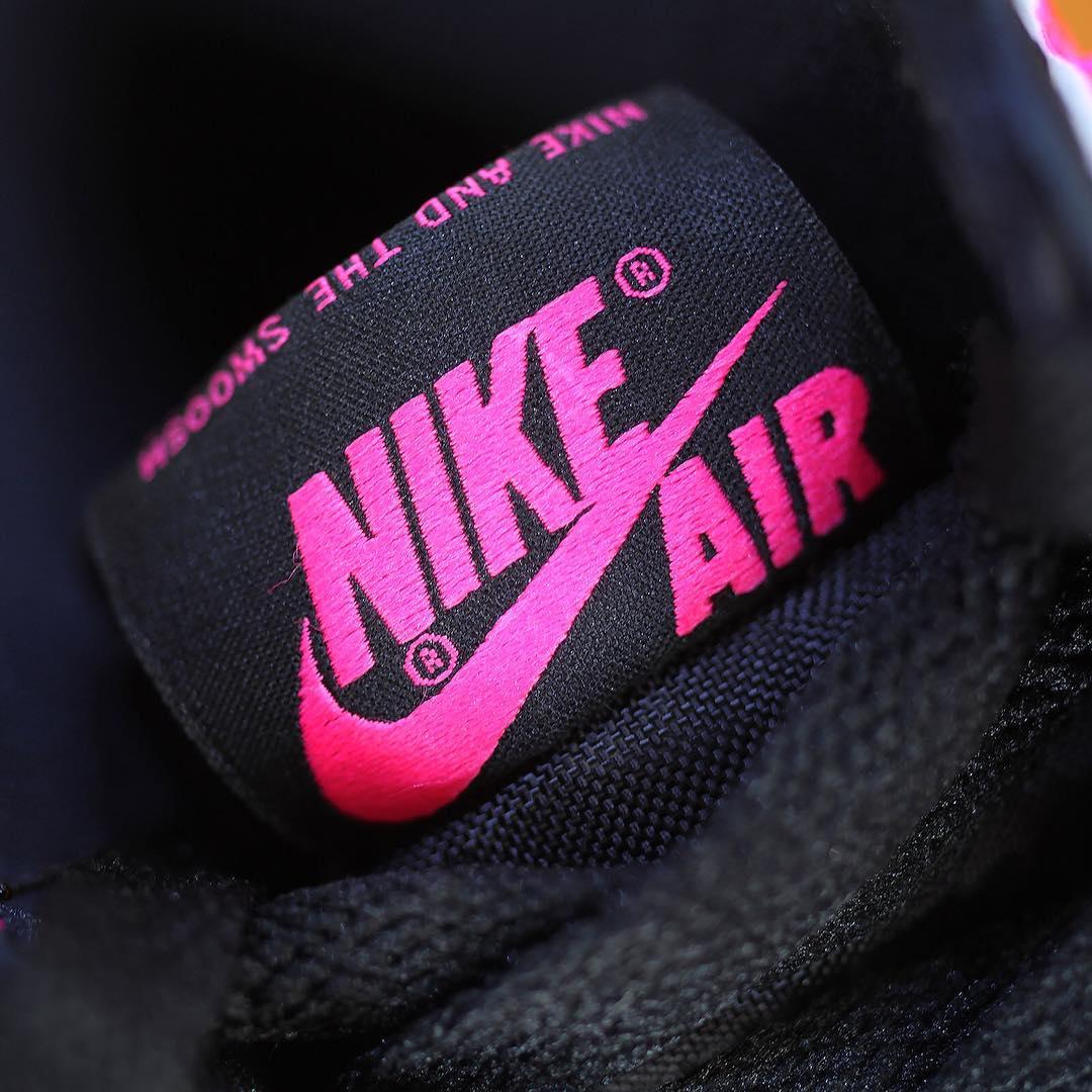 Air Jordan 1 Valentine's Day Black Pink Release Date 3M 881426-009 (11)