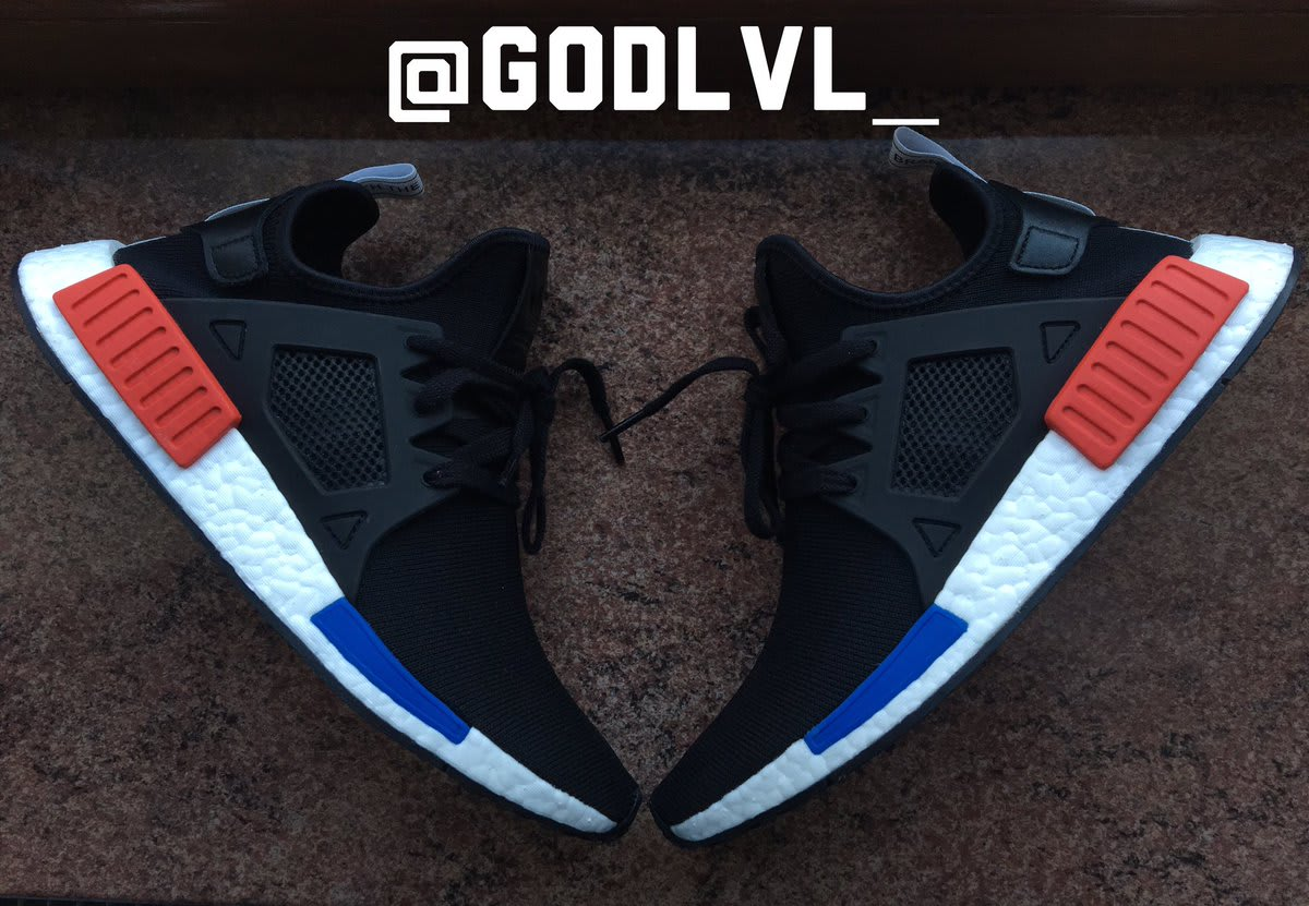 Adidas NMD XR1 OG Sz 7 13 / BY1909 / Men PK Black Red Blue White
