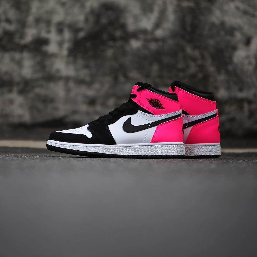 Air Jordan 1 Valentine's Day Black Pink Release Date 3M 881426-009 (7)