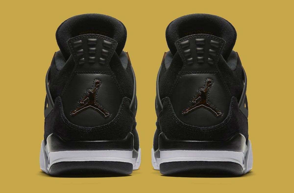 Air Jordan 4 Royalty Release Date Heel 308497-032