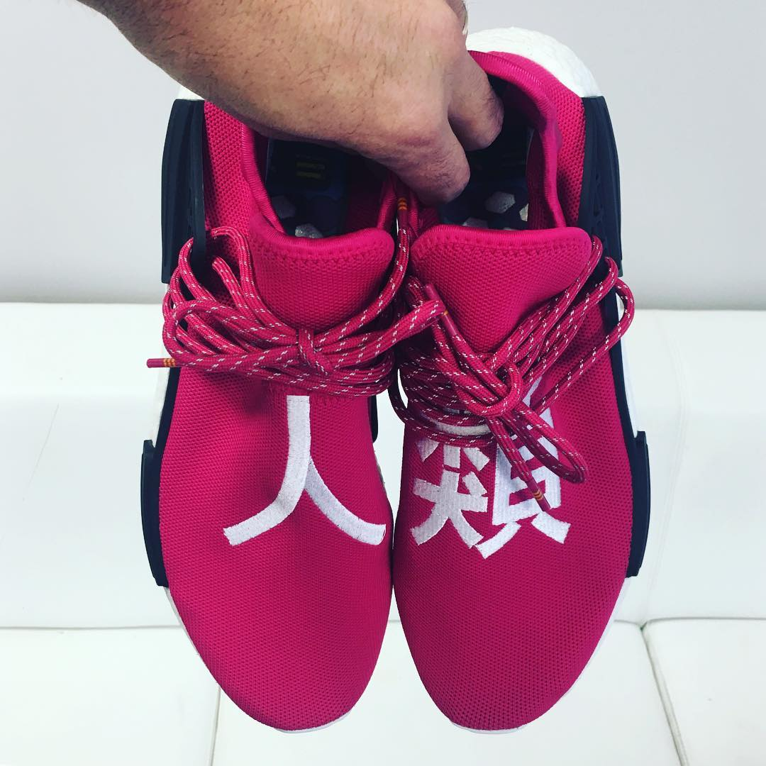 Pharrell x Adidas NMD Shock Pink Release Date BB0621 | Sole