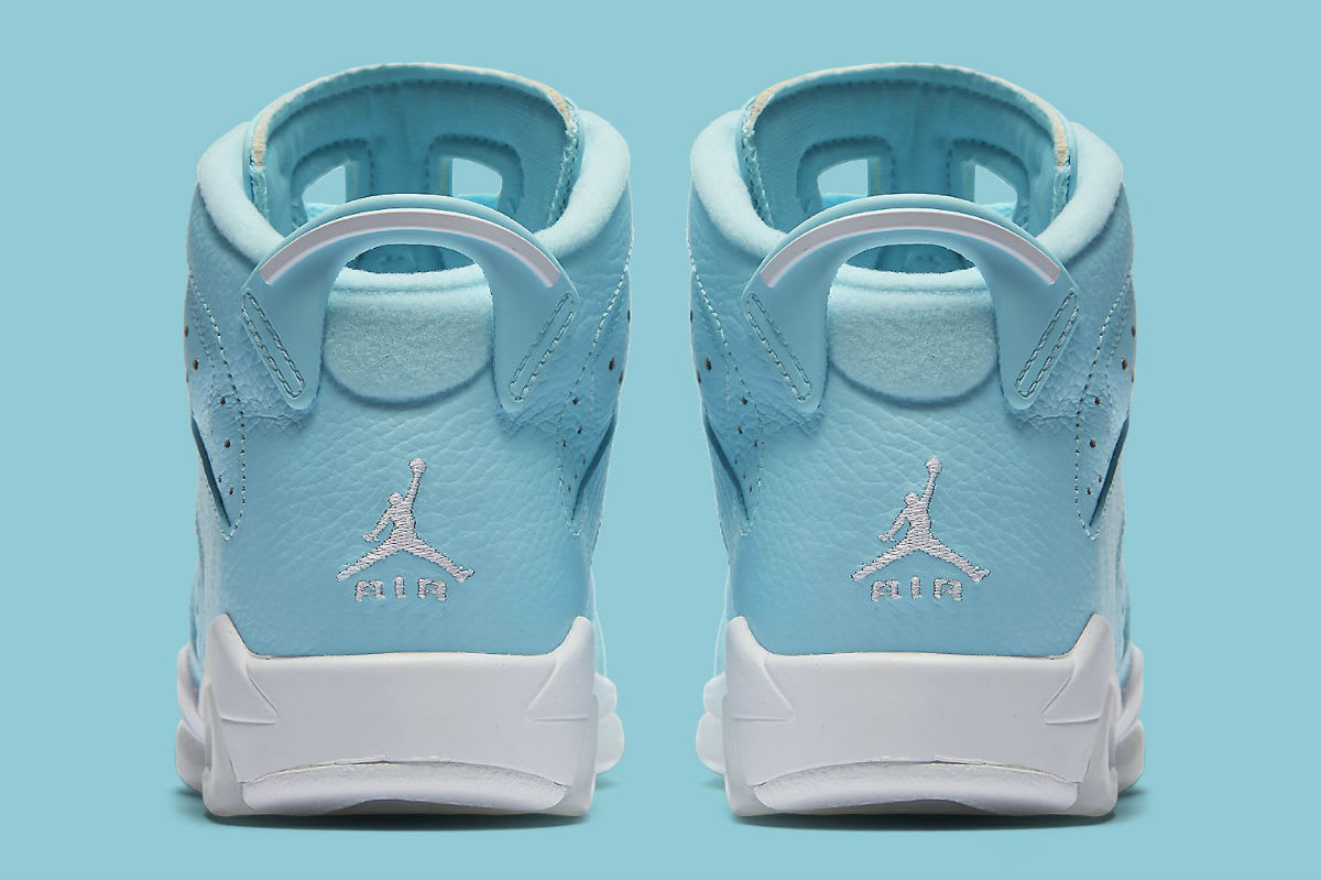 Air Jordan 6 Pantone GG Release Date Heel 543390-407