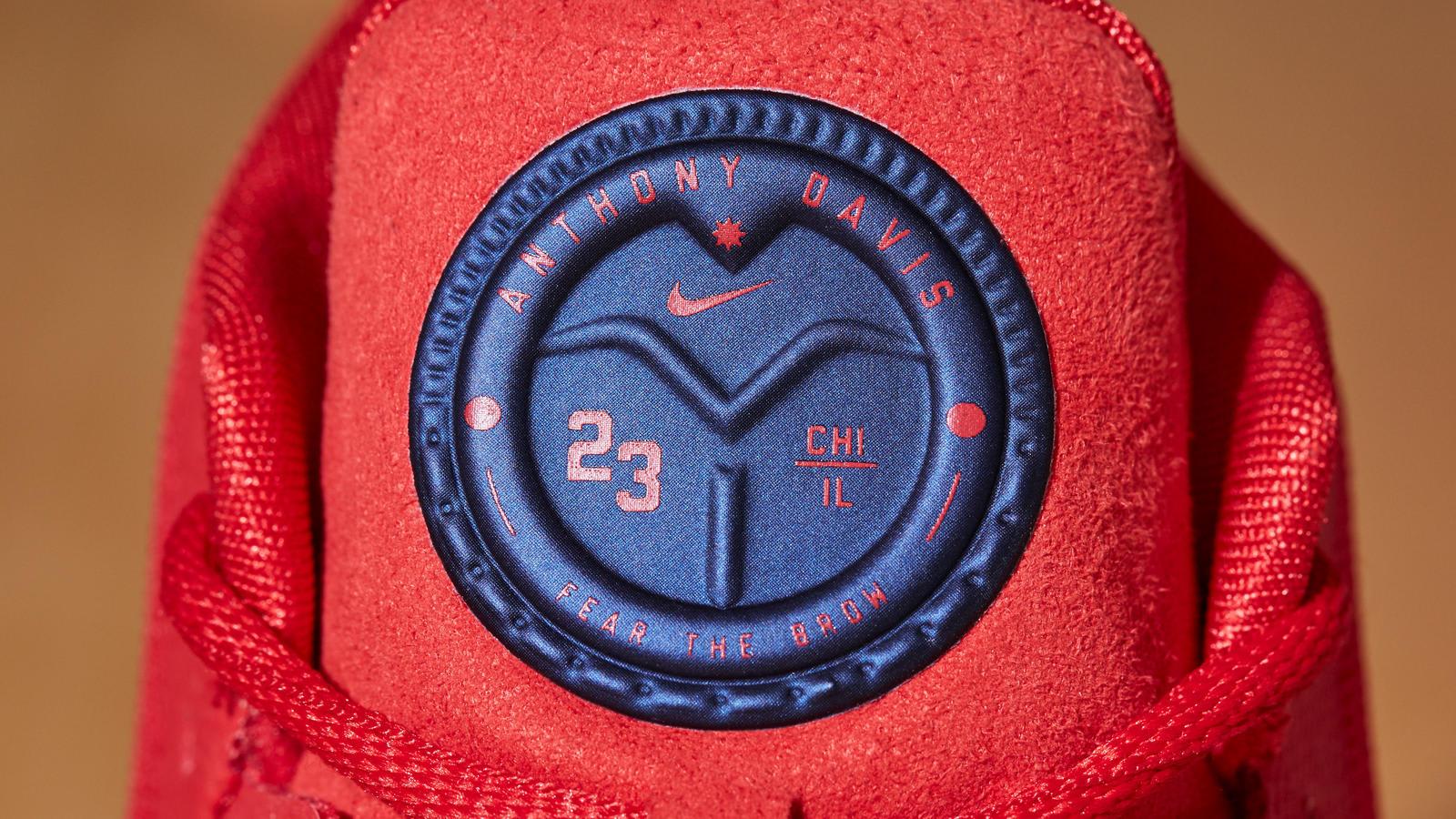 Anthony Davis Nike Bryce Dejean Jones Sneakers Tongue