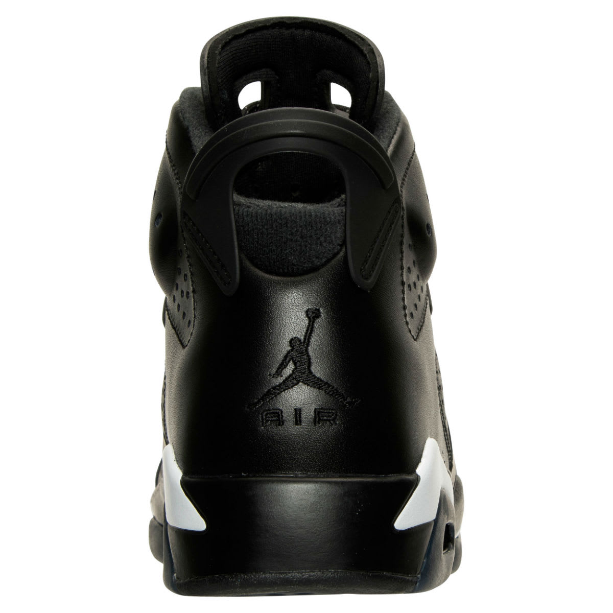 Air Jordan 6 Black Cat Release Date Heel 384664-020