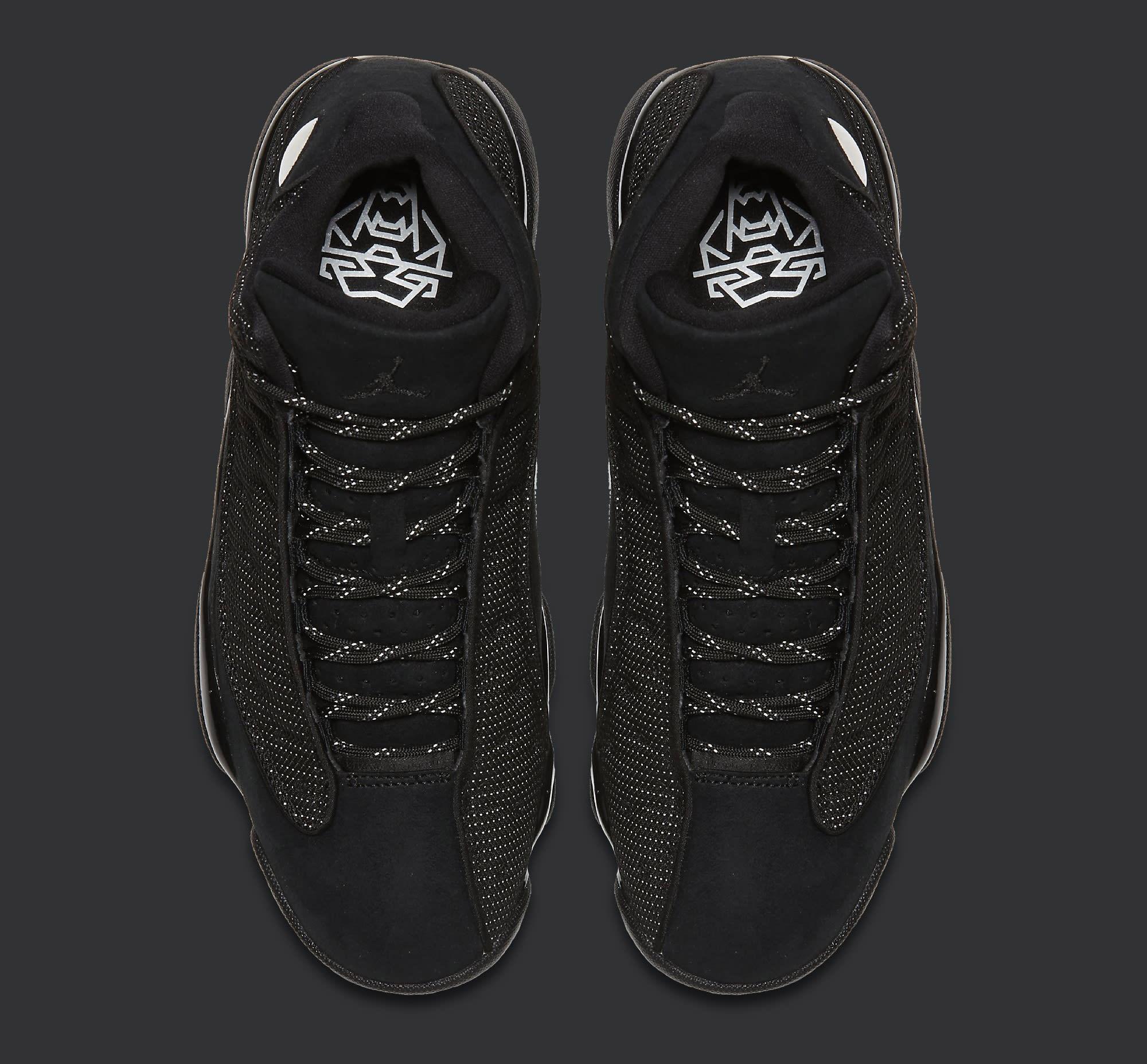 Black Cat Air Jordan 13 414571-011 Top