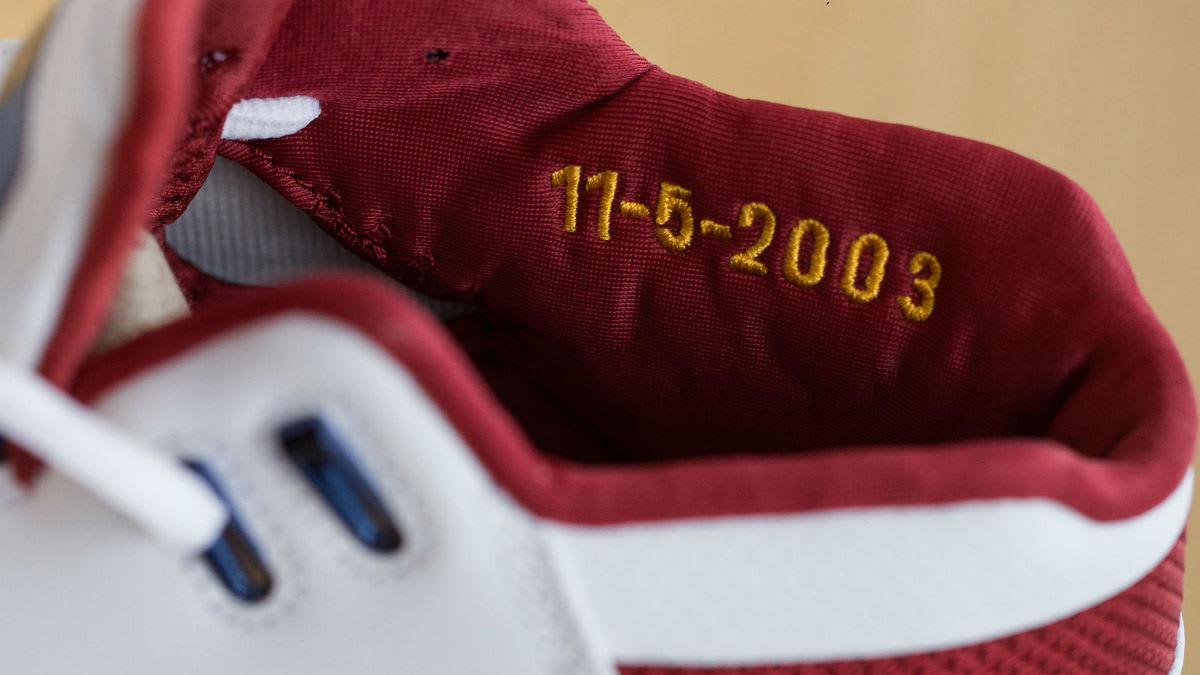Nike Air Zoom Generation First Game Retro Release Date Collar