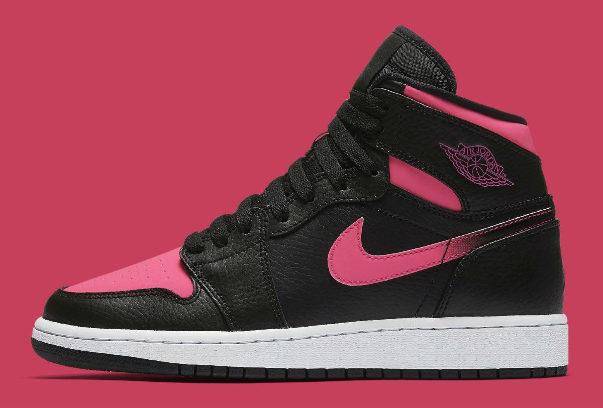 Air Jordan 1 GS Vivid Pink Release Date Profile 332148-019