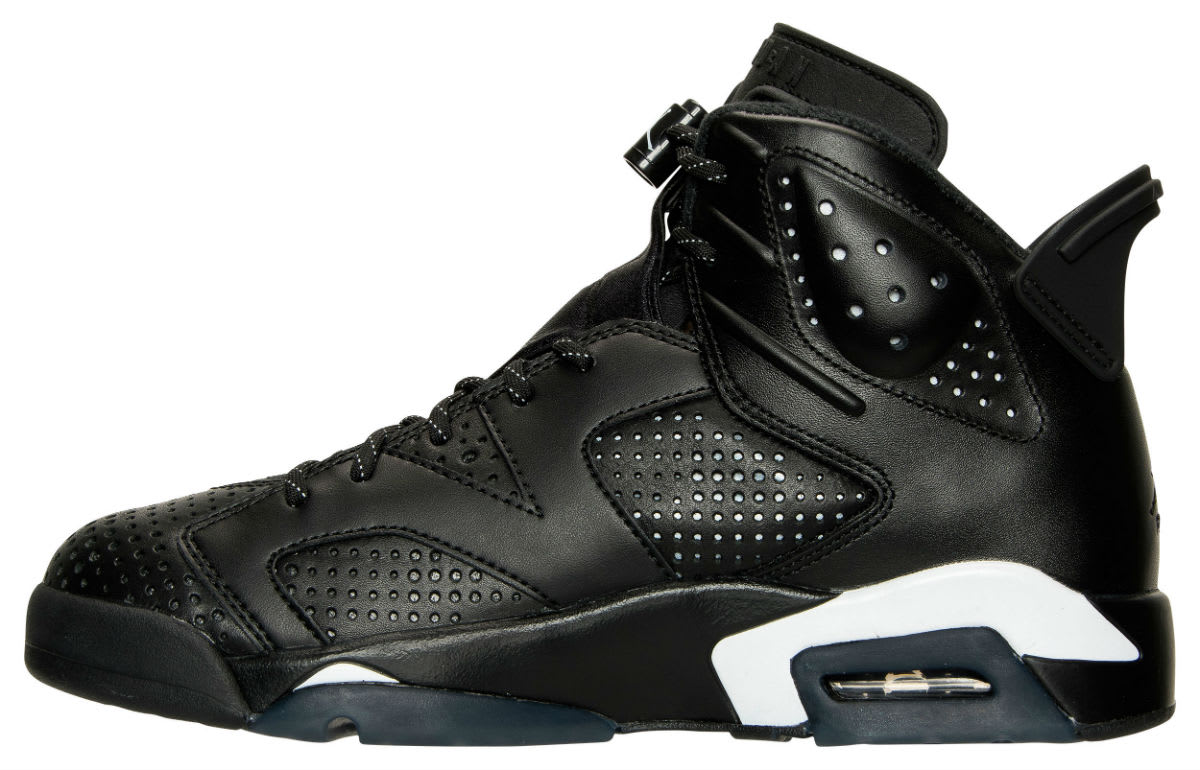 Air Jordan 6 Black Cat Release Date Medial 384664-020