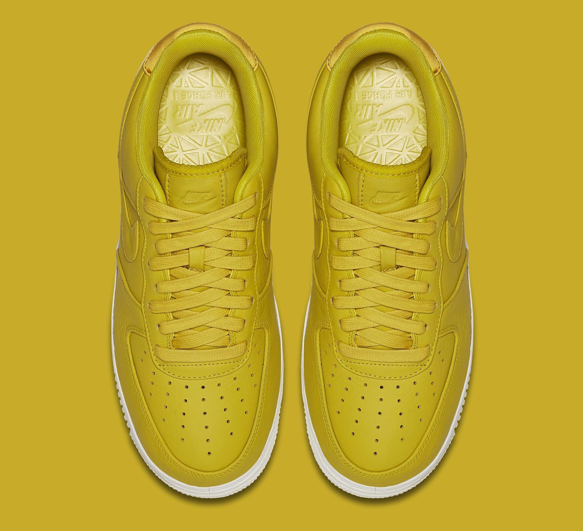Citron NikeLab Air Force 1 905618-701 Top