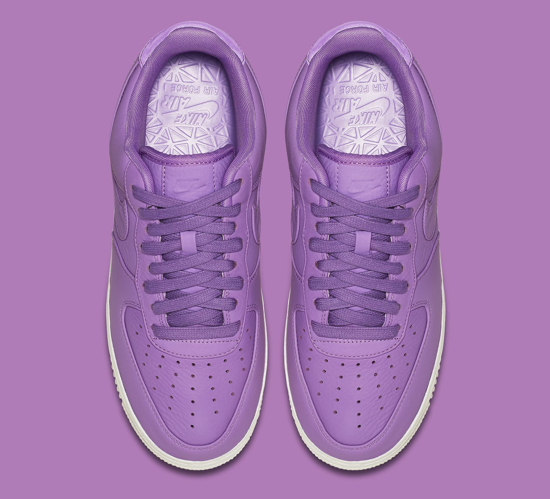 Nike Air Force 1 Low Purple Stardust 905618-500 Top