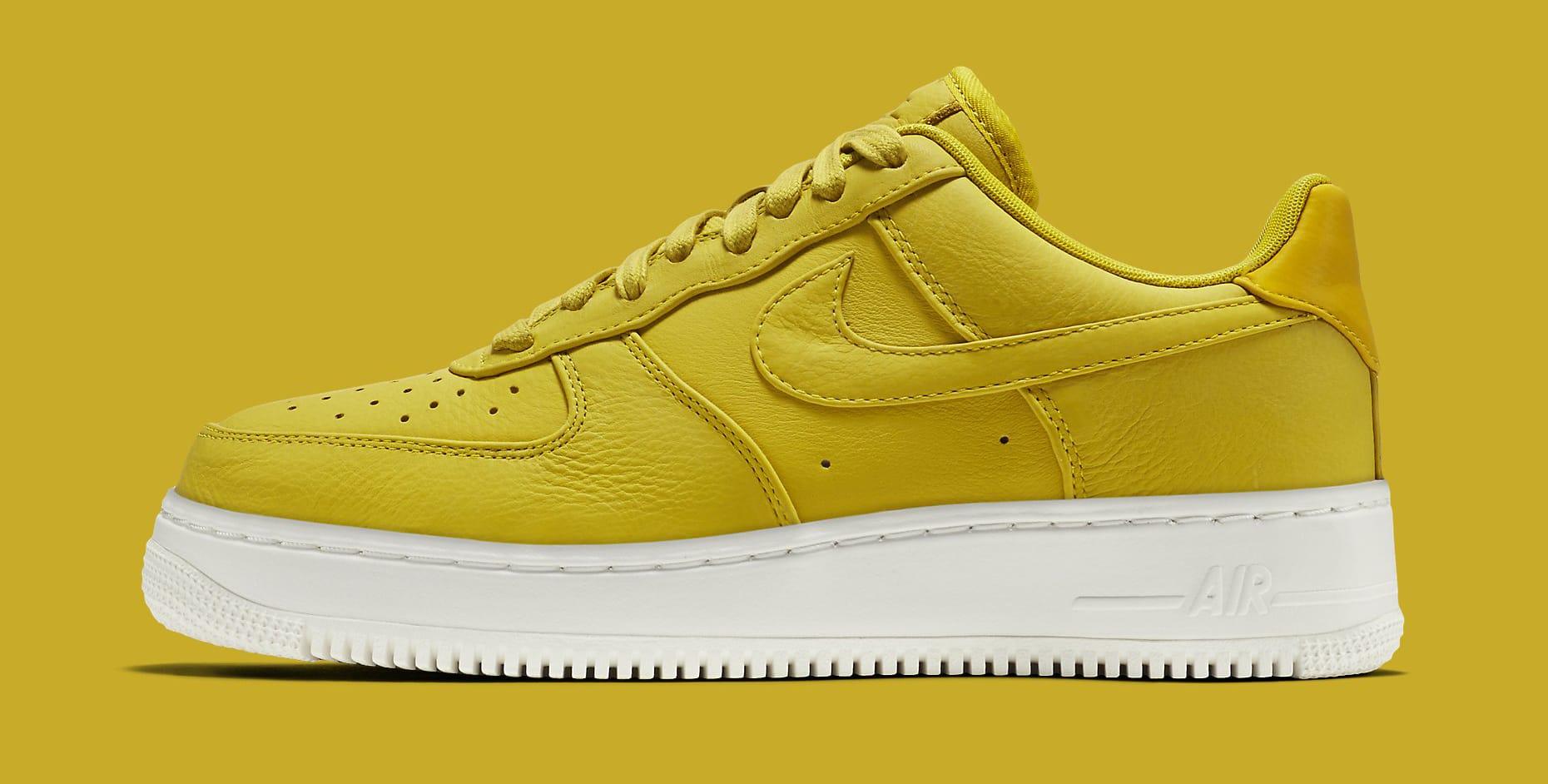 Citron NikeLab Air Force 1 905618-701 Profile
