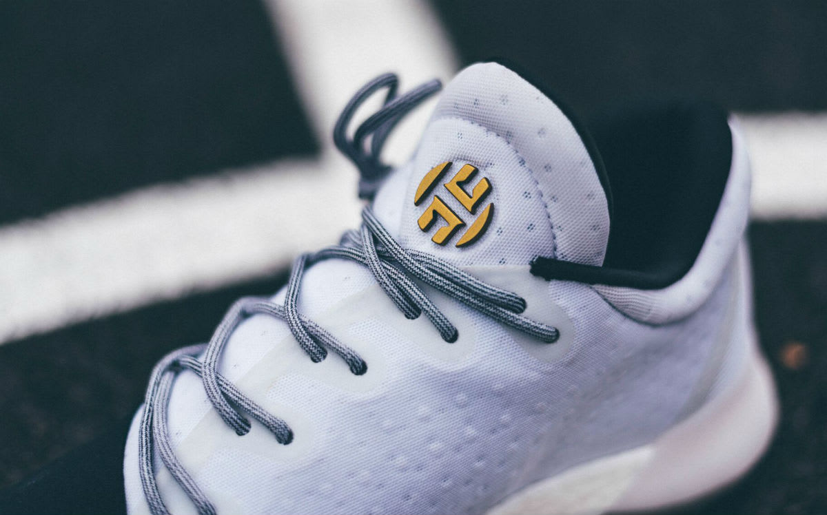 Adidas Harden Vol. 1 Disruptor Release Date Tongue BW0552