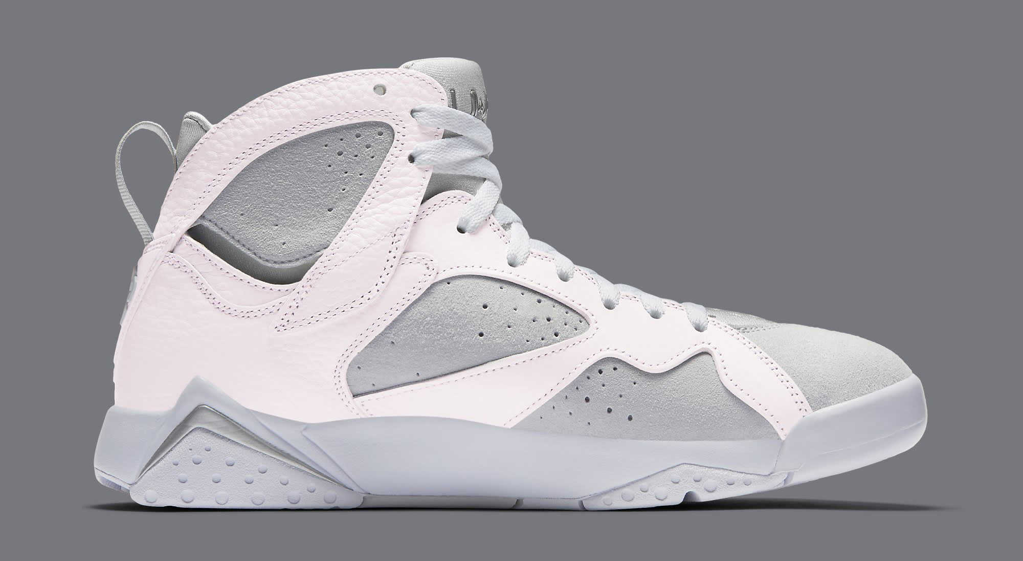 White Air Jordan 7 304775-120 Medial
