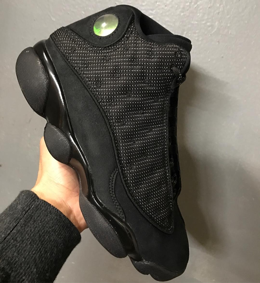 Air Jordan 13 Black Cat Release Date In-Hand 414571-011