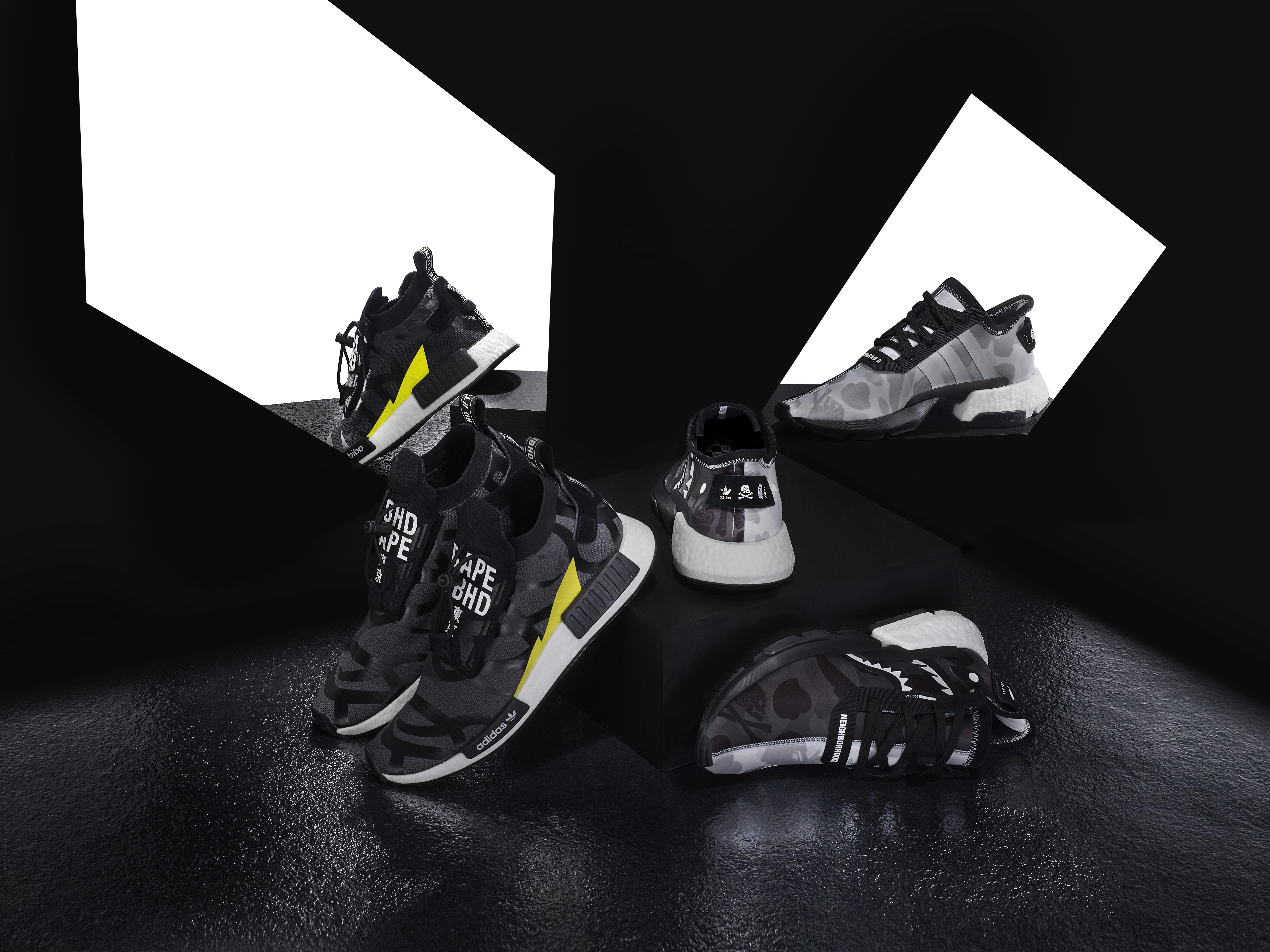 Billionaire Boys Club x Adidas NMD Hu