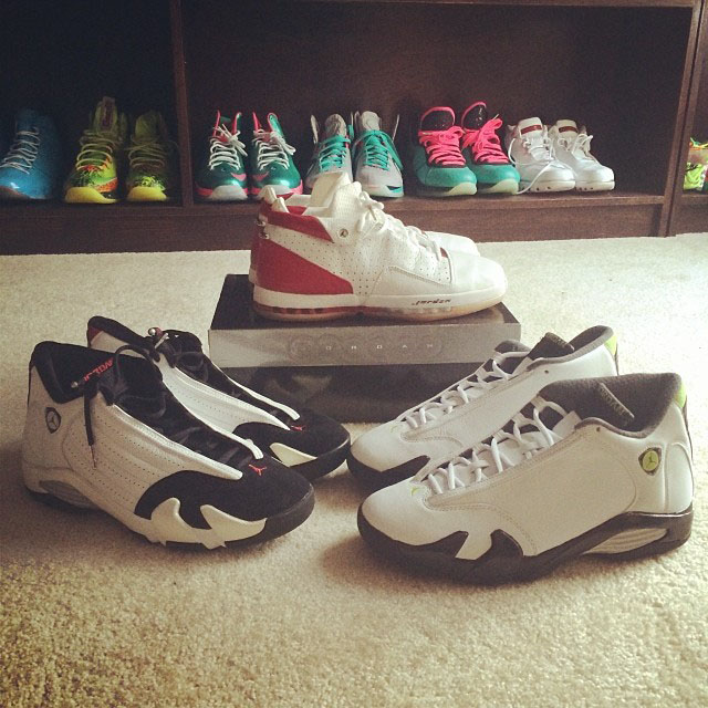 Joe Haden Picks Up Air Jordan 16 Low, Air Jordan 14 Retro