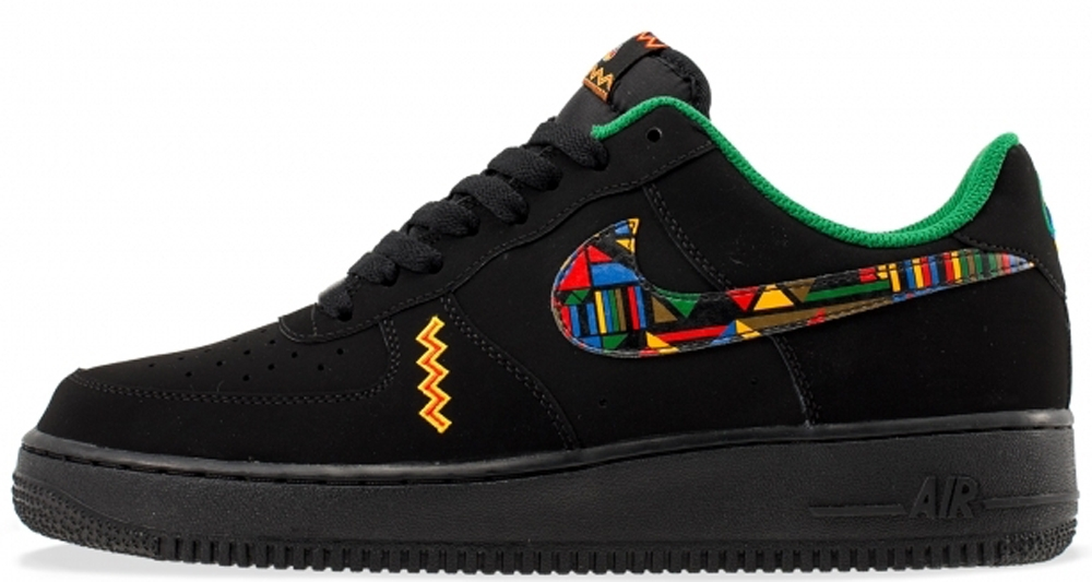 Nike Air Force 1 Low Black/Multi-Color