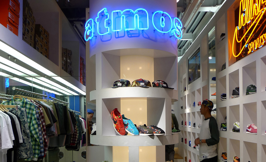 Shop Guide Tokyo atmos photo by Brennan Hiro Williams