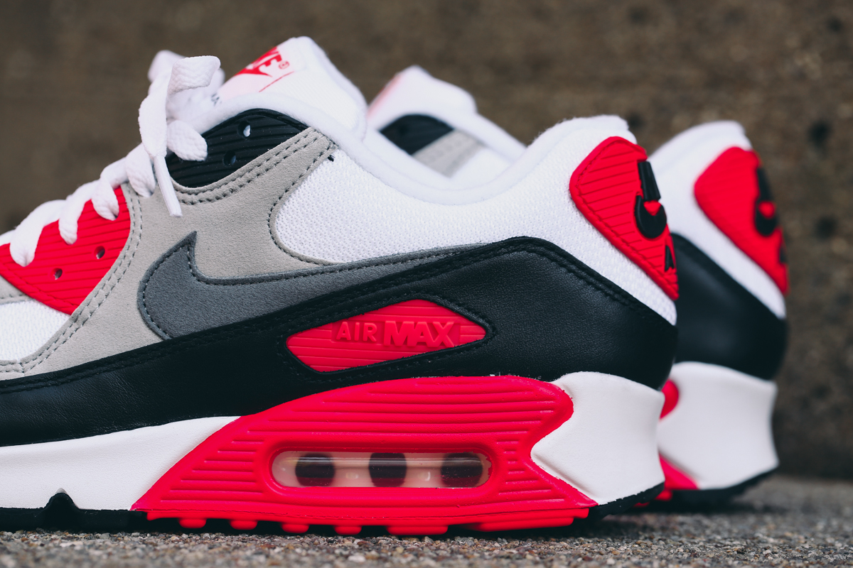 cheap for discount ffb66 82bcb Your Best Look Yet at the 2015  Infrared  Air Max 90s. Get the full release  info right ...