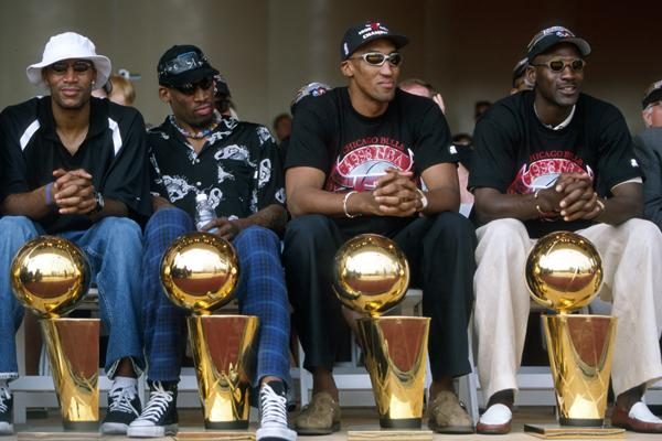 Dennis Rodman wearing the Converse Chuck Taylor All-Star