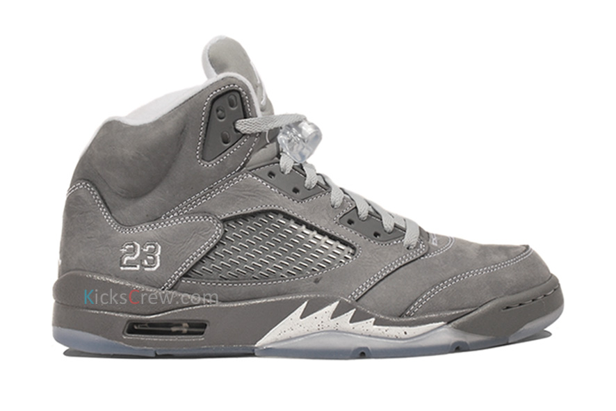 "Air Jordan Retro 5 - ""Wolf Grey"" - New Images | Sole Collector | 886 x 591 jpeg 104kB"