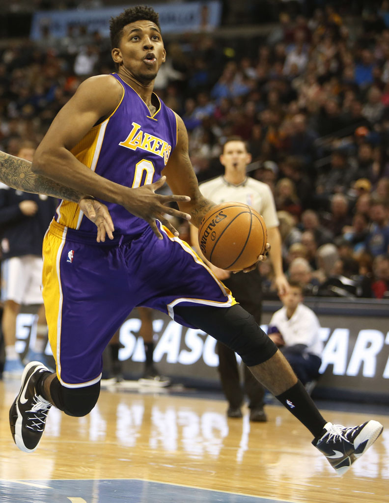 Nick Young Wears the Nike Zoom Kobe 1