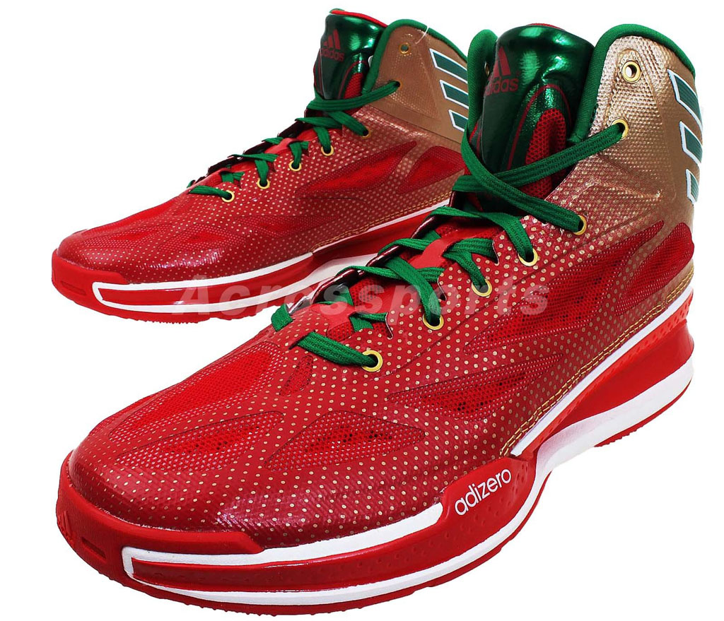 new concept d7ef9 cf64c 2018 release adidas Crazy Light 3 Christmas (2) cheap price c67ba 0eefa adidas  adiZero ...