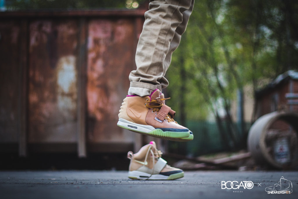 Nike Air Yeezy 2 'Net' by Maggi (1)