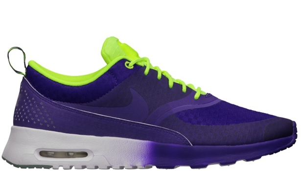 Nike Air Max Thea Woven QS Women's Electric Purple/Electric Purple-Volt-White