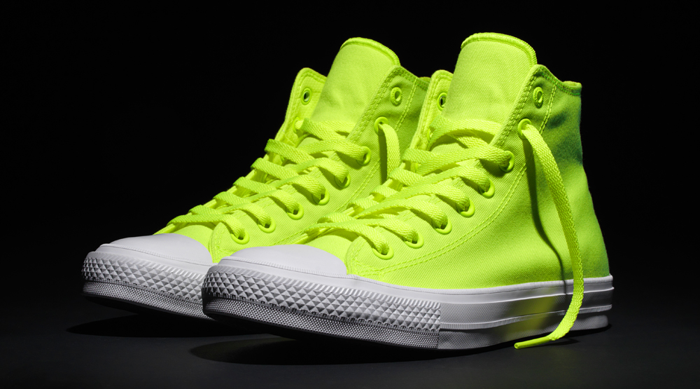 b951e6d84274 Converse Borrows Nike s Volt for Blindingly Bright Chuck Taylors ...