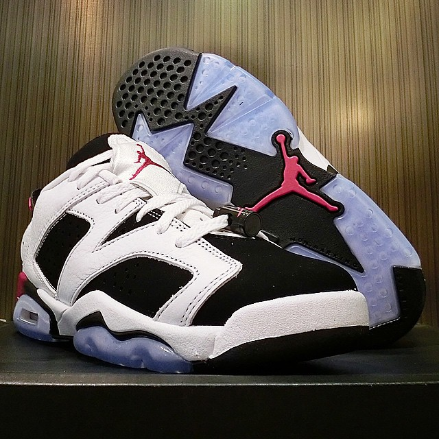 Air Jordan VI 6 Low Sport Fuchsia (4)