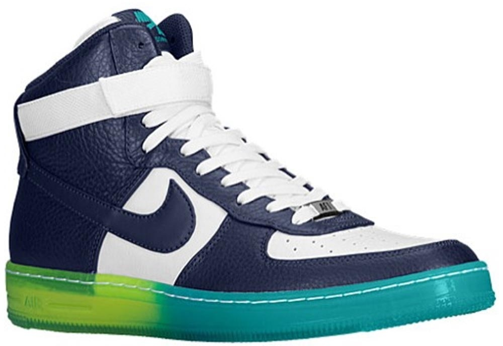 Nike Air Force 1 Downtown Hi Breeze Midnight Navy/Midnight Navy-White-Turbo Green