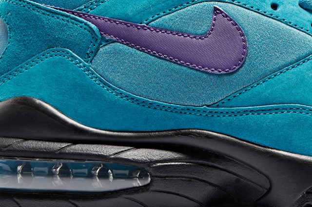 size x Nike Air Max 93 in turquoise suede