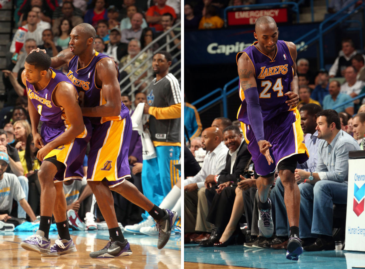 Kobe Bryant Scores 30,000th Point in the Nike Zoom Kobe VII (16)