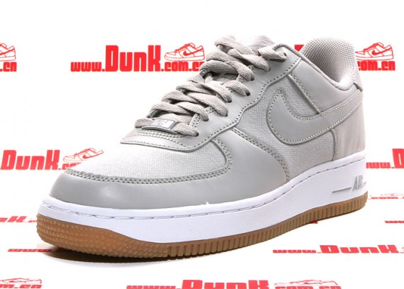 grey gum sole air force 1