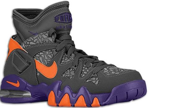 Nike Air Max 2 Strong Dark Grey/Electric Orange-Court Purple