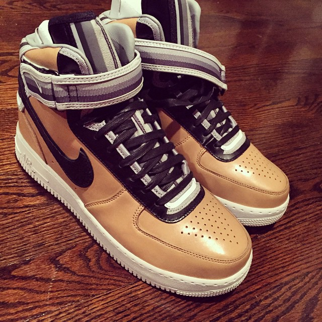 DJ Funk Flex Picks Up Nike Air Force 1 High RT Beige
