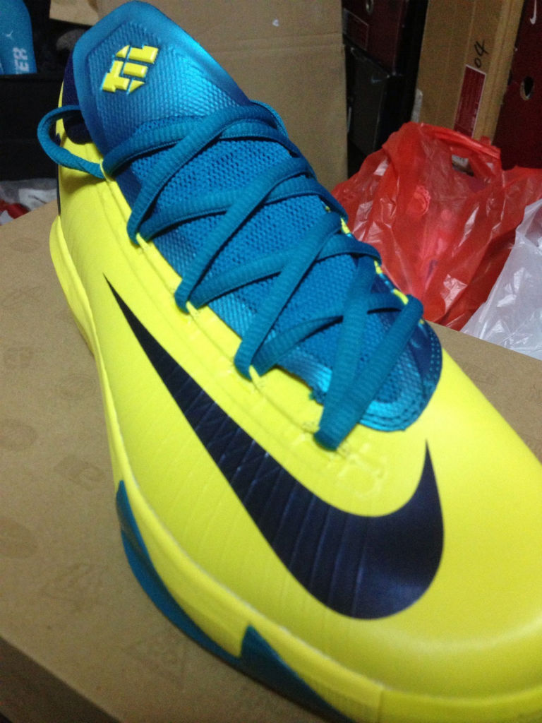 Nike KD VI Yellow Teal Navy 599424-700 (6)