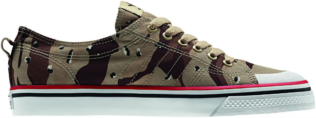 253ad93ead2fd adidas Originals Camo Pack - Spring Summer 2013 - Nizza Classic 78 Low  Q20360 (