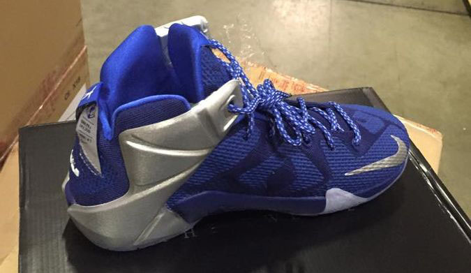 womens nike lebron 12 blue white
