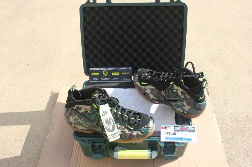 Spotlight // Pickups of the Week 6.16.13 - Nike Air Foamposite Pro Army Camo by nystatenisland