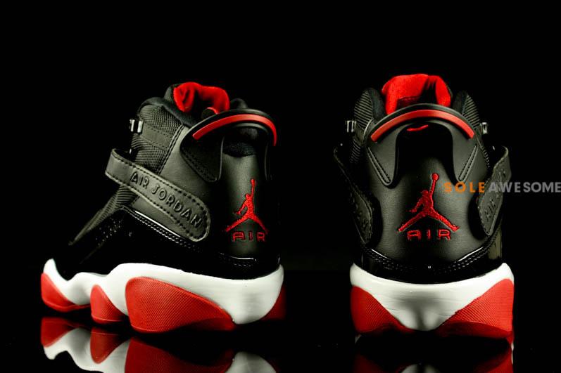 Air Jordan Six Rings Black Varsity Red White Sole Collector