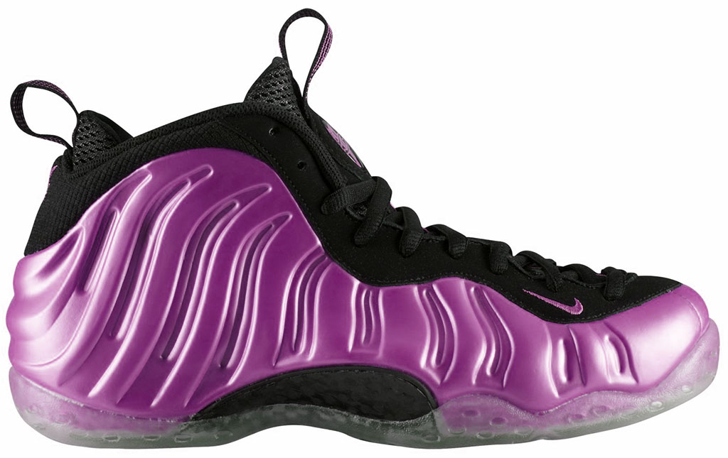 Nike Air Foamposite One Pink Yay Yow Think Pink Holiday 2012 314996-600