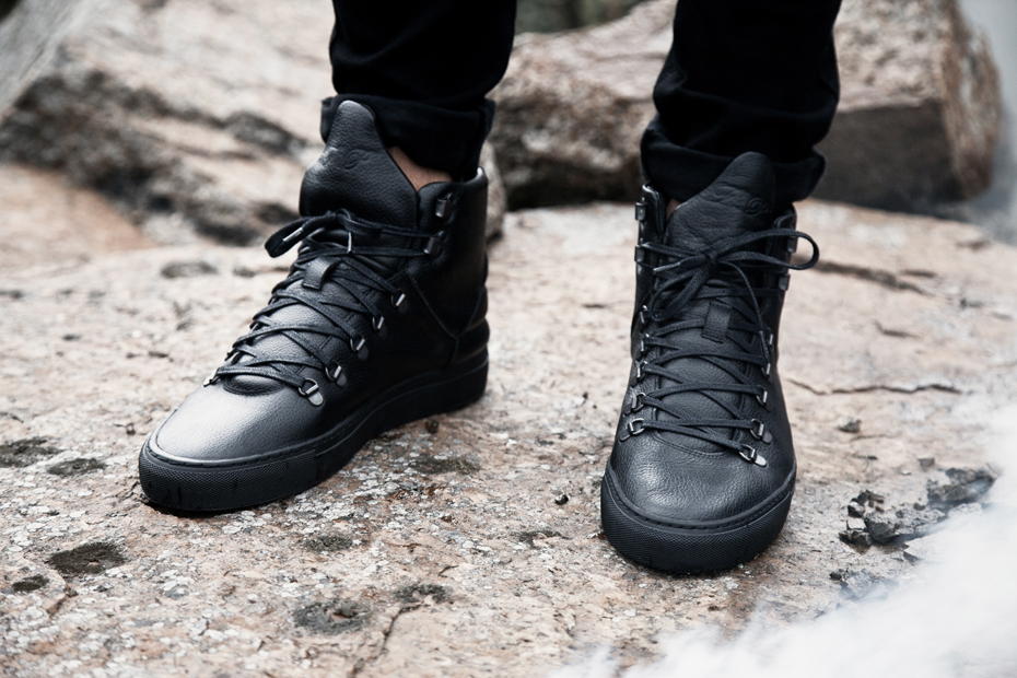 Filling Pieces AW 13 black Mountain Boot black