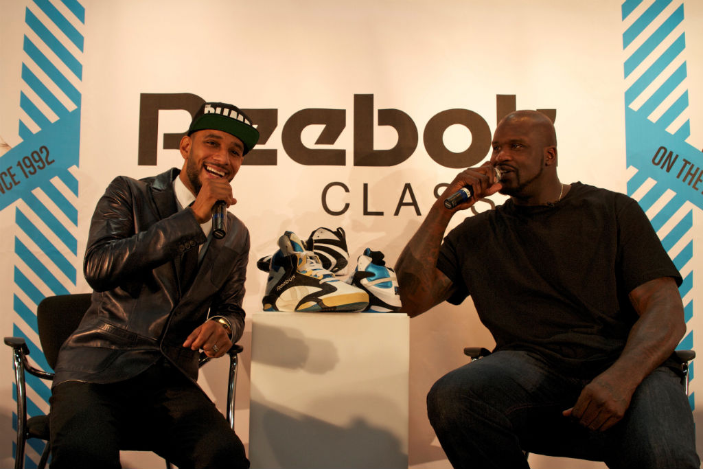 Shaq, Swizz Beatz & Tyga For Reebok Classics At Project (8)